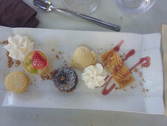 Montbrison, Франция: Dessert