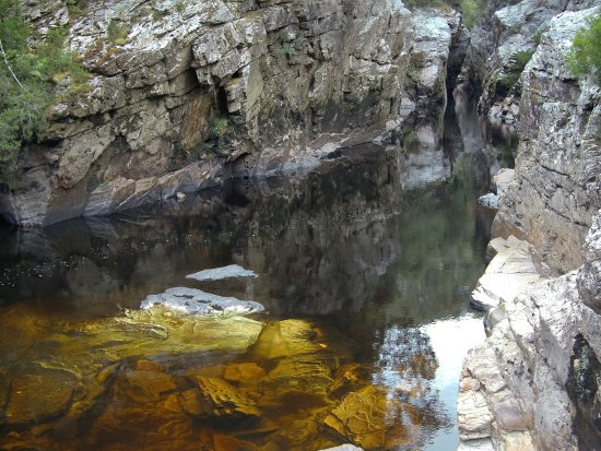 Tasmania, Australia: Water so clear and beautiful - 100% fine to drink