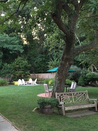 Sag Harbor, NY: The Restaurant garden