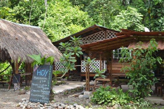 Punta Uva, Costa Rica: front
