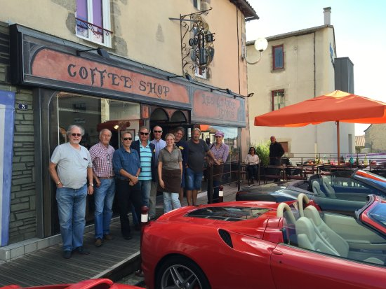 Bressuire, Francia: Leith and partner and our group