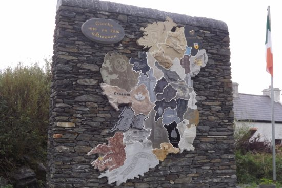 Glencolmcille, Irlandia: Map of Ireland