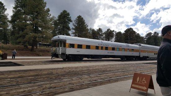 Grand Canyon Railway: The Grand Canyon train