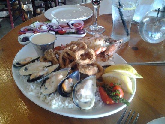 Milnerton, แอฟริกาใต้: Seafood platter