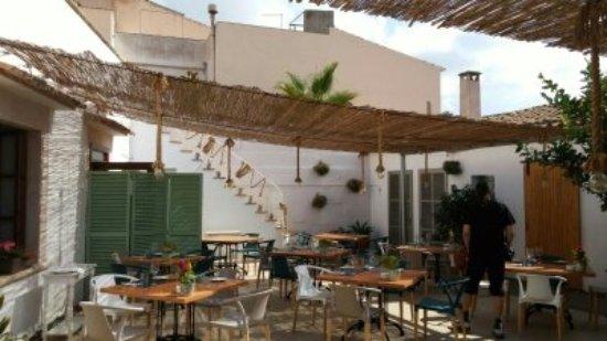 Santanyi, Spanyol: Innenhof