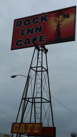 Memphis, TX: Rock Inn Cafe
