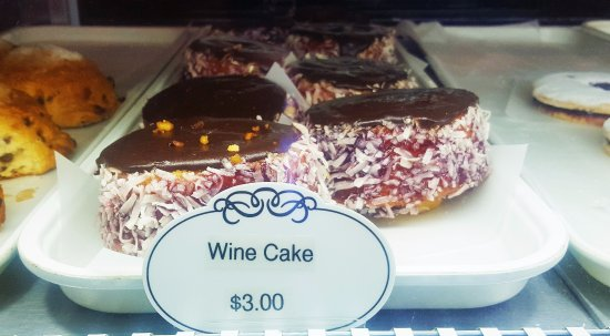 Broomall, PA: WIne cake - a classic from the 1960s