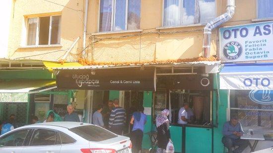Osmangazi, ตุรกี: Very small restaurant limited seating