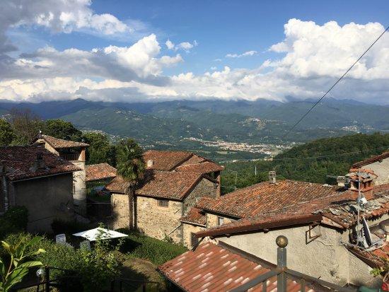Camporgiano, Italia: Vue de la piscine