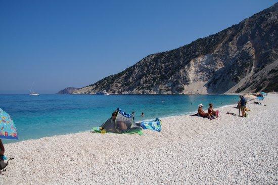 Myrtos Beach: Kiezels :)