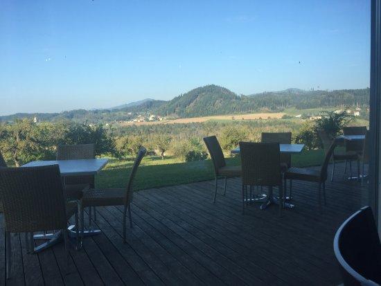 Sankt Georgen am Längsee, Austria: Aussicht vom Stift