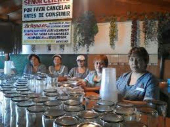Puente Alto, Chile: El Mote Con Yapa