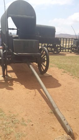 Dundee, África do Sul: the bronze wagons