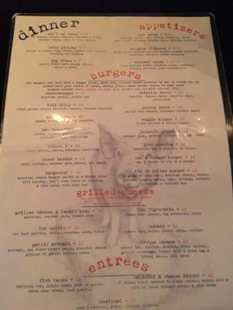 Morris Plains, NJ: Menu