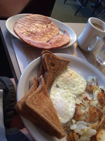 Fred's Diner: Number 2 with ham