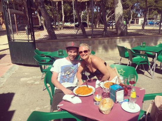 San Javier, Spanien: On one of the many visits