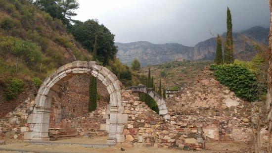 La Morera de Montsant, España: vista interior del recinto