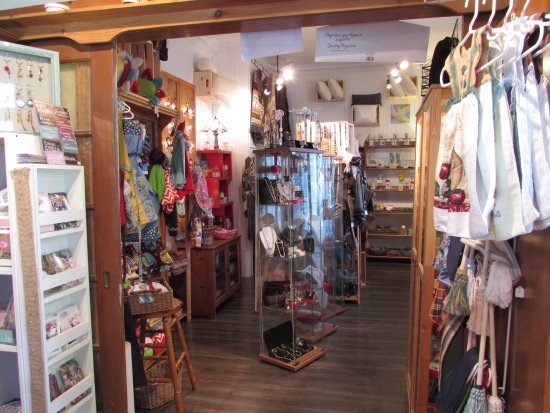 Nicolet, Canada: Coin boutique artisants.