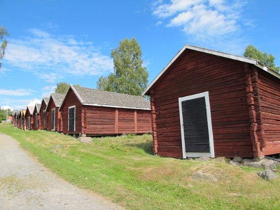 Nordingrå, Sverige: 馬小屋なので窓はありません