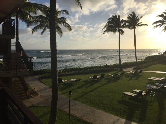 Koa Kea Hotel & Resort: view from our ocean view room