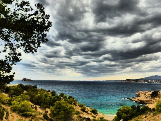MedPlaya Hotel Regente: ***view of Benidorm beach from the nature reserve area ***