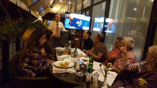 Dnister Hotel: Lovely dinner at the night restaurant