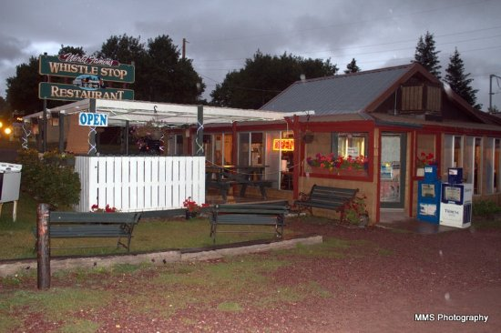 Entrance - The Whistle Stop Restaurant Photo