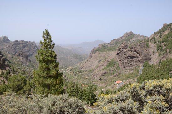 Artenara, Spanje: Krajobraz Parque Rural del Nublo