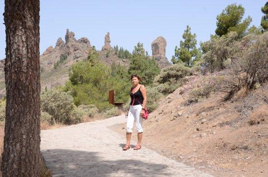 Artenara, Spanje: W drodze na Roque Nublo