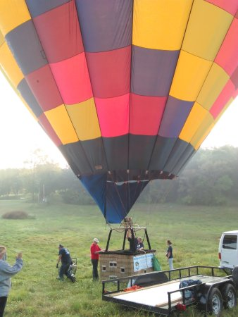 High Ridge, MO: Getting ready to launch!
