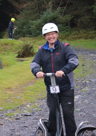 """Segway Isle of Man: Learning to Segway on the """"beginners slope"""""""