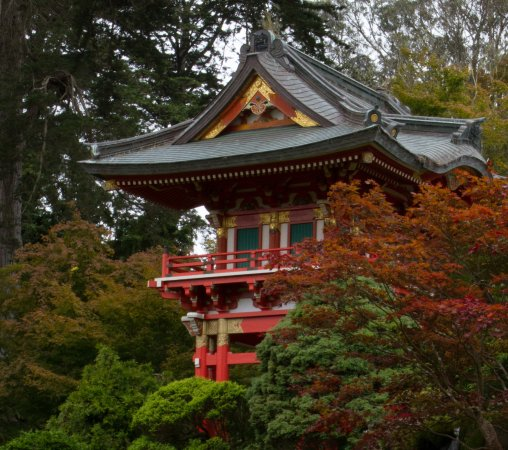 Japanese Tea House And Garden Picture Of Golden Gate