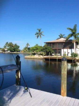 Matlacha, Флорида: Dock, other side of Patio