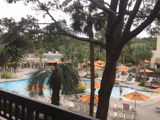 Sonesta Resort Hilton Head Island: View from room 2090