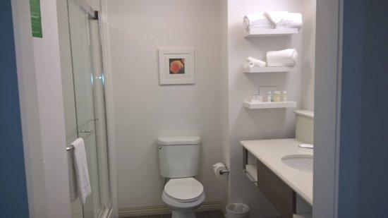 Camarillo, CA: Vista parcial do banheiro