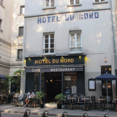 restaurant facade picture of hotel du nord paris tripadvisor. Black Bedroom Furniture Sets. Home Design Ideas