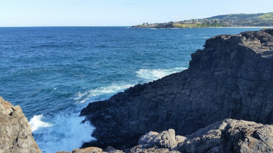 Kiama, Australien: View from rocky area- risky, be careful while climbing.