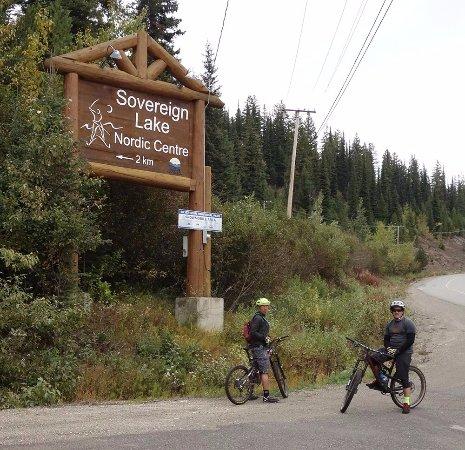 Vernon, Kanada: entrance