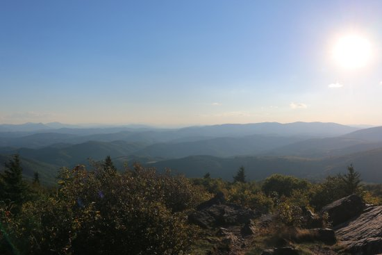 Grayson Highlands State Park: Pinnacle Overlook