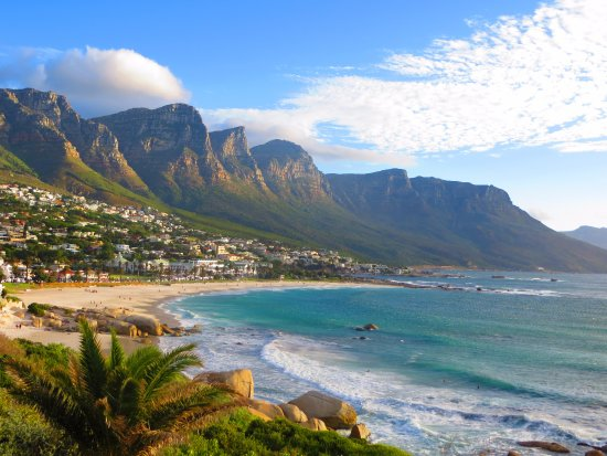 Cape Town, Zuid-Afrika: View from tourist bus