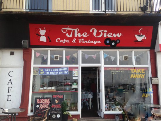 The View Cafe and Vintage Music: 'THE VIEW' MORECAMBE