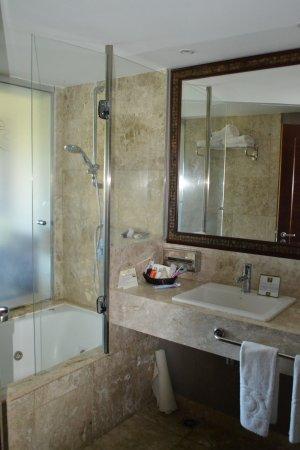 Grand Palladium Imbassai Resort & Spa: Baño dormitorio matrimonial y dormitorio niños eran iguales