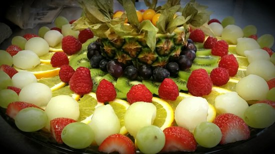 Birchington, UK: Fruit platter for buffets