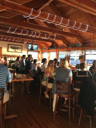 Inlet Seafood Restaurant Inside Room