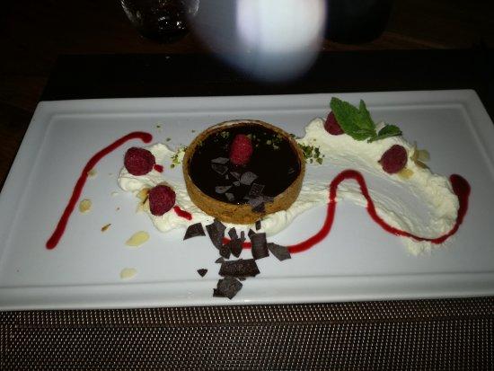 Stoumont, Belgique : Tarte au chocolat......