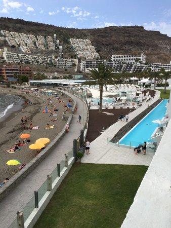 Playa de Cura, Espanha: Vi från balkongen våning 4