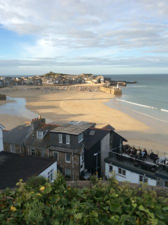 27 The Terrace: St Ives Bay View...