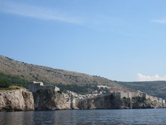 Orasac, Croacia: Arriving in Dubrovnik on the boat / shuttle