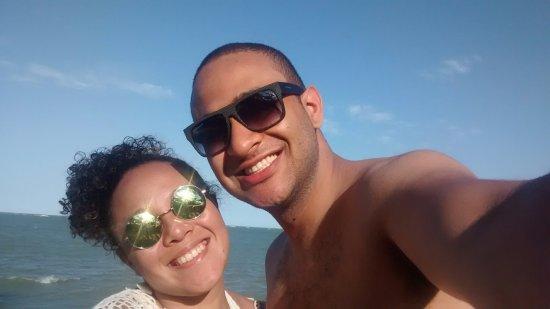 Santa Cruz Cabralia, BA: Marido e Eu