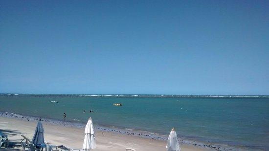 Santa Cruz Cabralia, BA: Praia bem aonde começa Coroa Vermelha